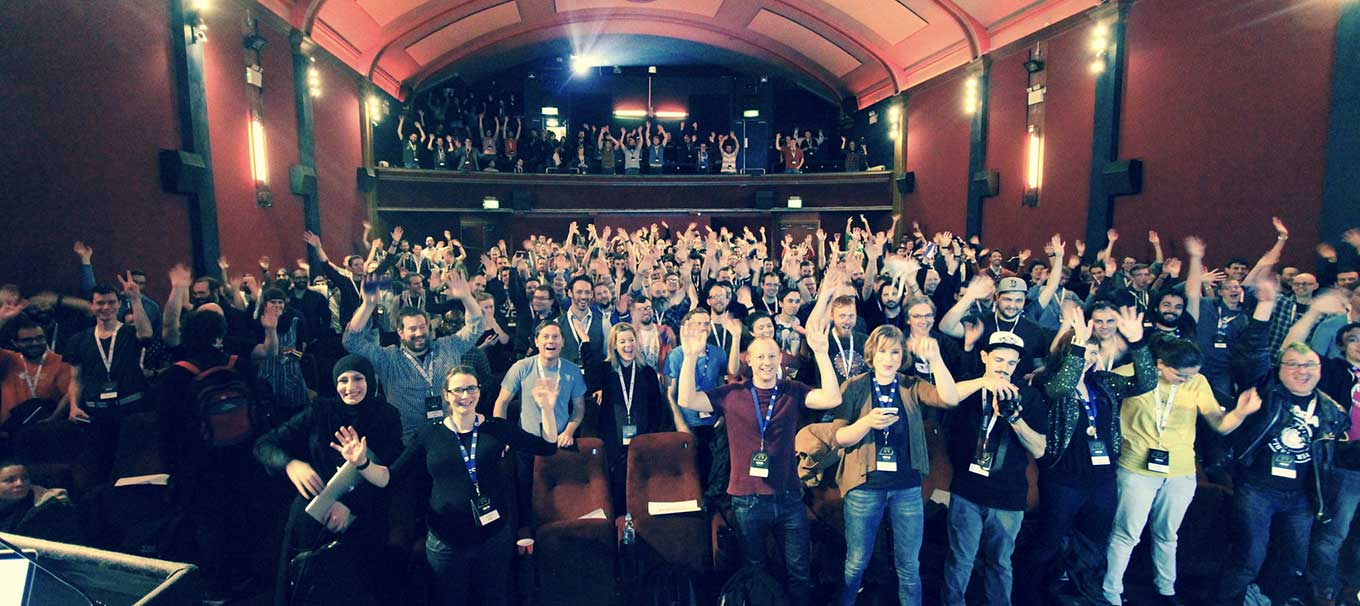 Photo of delegates at ffconf 2015