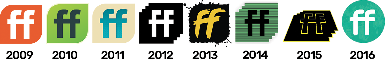ffconf logos over the years