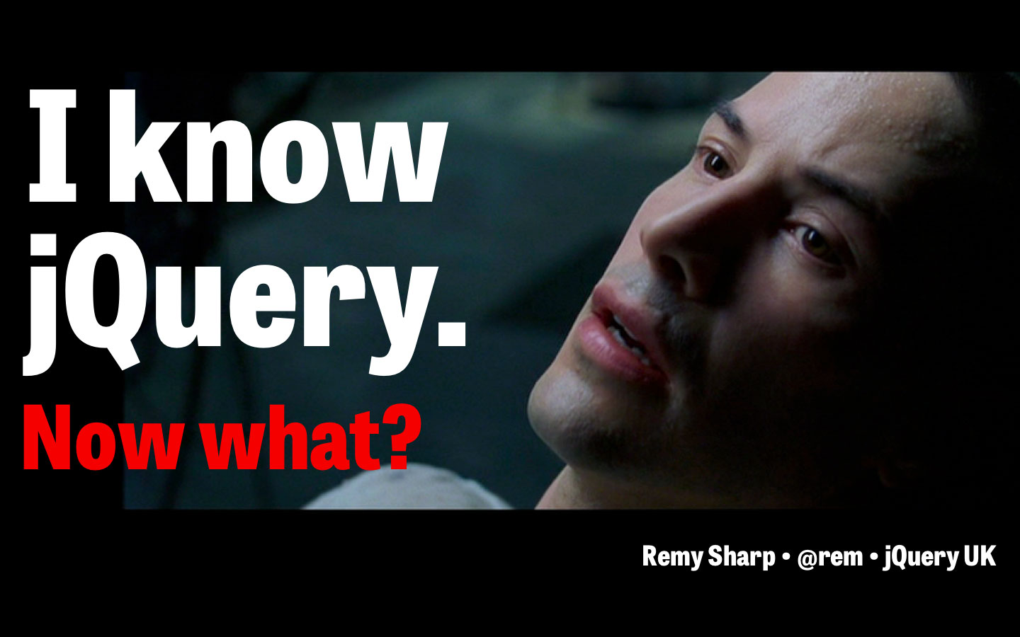 I know jQuery. Now what?