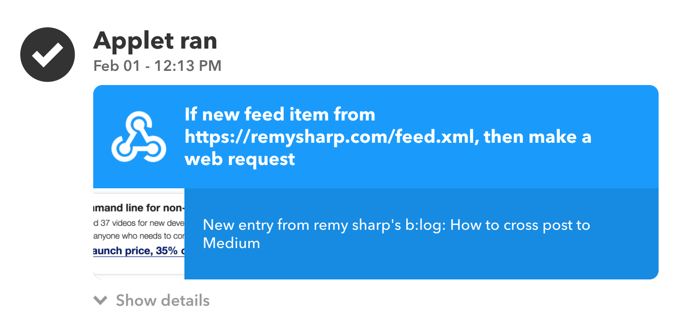 How to cross post to Medium