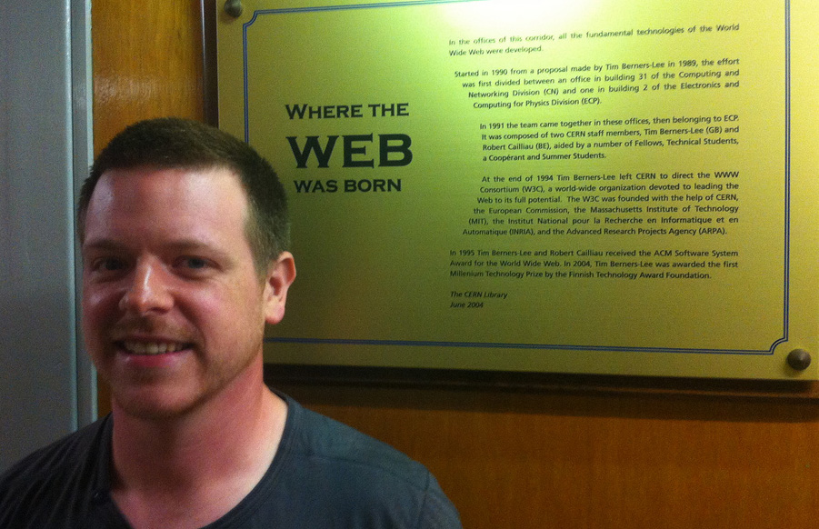 Remy where the web was born - Photo by Jeremy Keith
