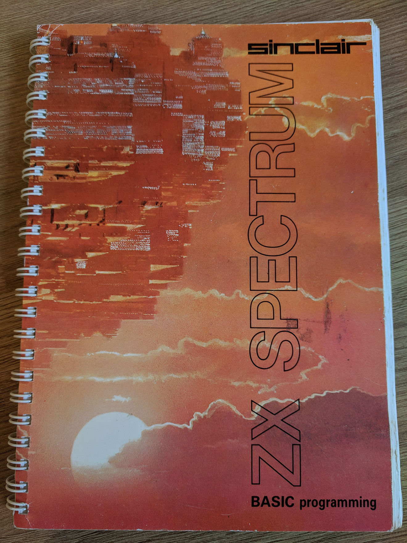 ZX Spectrum manual cover